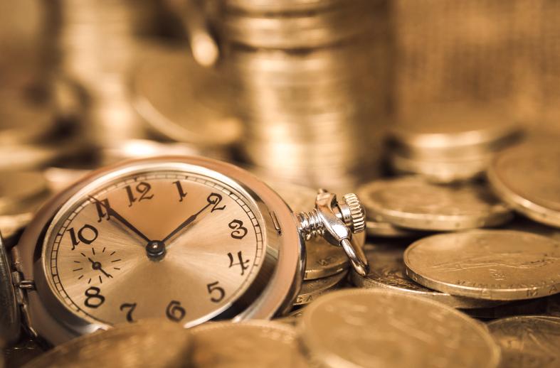 El valor del dinero en función al tiempo.